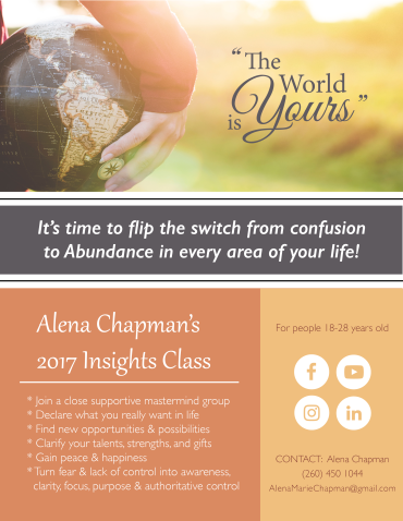 Insights Class Flyer